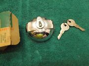 1957 Chevy Bel Air Locking Gas Cap Nos 987621 Nomad Convertible Sport Coupe 210