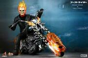 Large Hot Movie Masterpiece Ghost Rider Hell Cycle