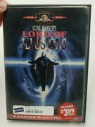 Lord Of Illusions Dvd 1998 Unrated Directors Cut Used Rental Case