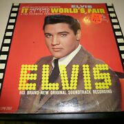 Sound Track 33 Rpm Lp Record - Elvis Presley - It Happened At The World's Fair