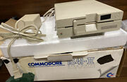 Commodore 1541-ii Floppy Disk Drive Power On Tested Only W/ Box And Power Supply