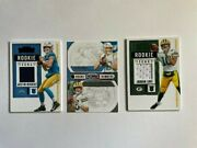 Justin Herbert And Jordan Love Patch And Round 1 Contenders Lot 3