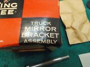 Pair King Bee Truck Mirror Bracket Kits Nos Matched 50and039s With Instructions Hdwe
