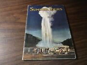 1917 Union Pacific Chicago And North Western Summer Tours Booklet