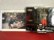 Hannibal Dr. Lecter Figure Anthony Hopkins With Autograph Photo