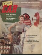Your Car Mg Fibreglass Bodies Kinsey Pennsylvania Turnpike Speed Laws + 2 1954