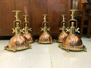 Nautical New Style Ceiling Pendant Spot Light Fixture Copper And Brass 5 Piece