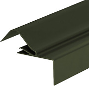 Green 2m Corrugated Roof Side Flashing Aluminium Gable End Lean-to Trim Shed