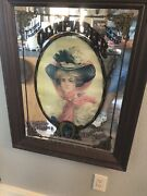 Antique Olympia Beer Bar Mirrors