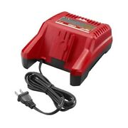 Milwaukee 48-59-2819 28v Lithium-ion Battery Charger With Led Light Display