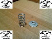 Spring And Collar For Low Speed Needle Valve Lever On Harley Linkert Carburetors
