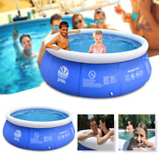 Above Ground Inflatable Swimming Pool Family Play Bathtub Water Adults Kids