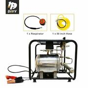 Dc 12v Air Compressor 550w 60l/min For Snorkeling With 50ft Hose And Respirator