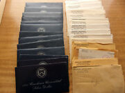 Lot Of 16 Us Proof And Mint Sets And 13 Uncirculated Eisenhower Silver Dollars