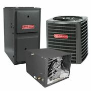Goodman - 2.5 Ton Cooling - 60k Btu/hr Heating Air Conditioner + Variable Spe...