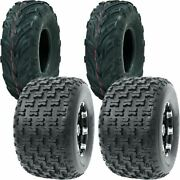 22x7-10 P361 And 20x11-8 P336 Ocelot Sport Utility Atv 4-ply Tires 4 Pack