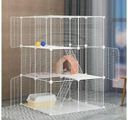 Encrypted Cat Cage Widened Floor Slab Household Cat House Small Villa Solid