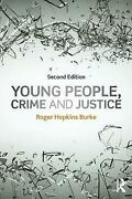 Young People Crime And Justice Hopkins Burke Roger Nottingham Trent Universi