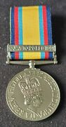 Ready To Wear Gulf War 1990-91 Medal With 16 Jan To 28 Feb 1991 Clasp