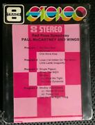 Red Rose Speedway - Paul Mccartney And Wings Promo 8-track Sealed Beatles