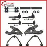 4 Control Arms 4 Tie Rod Ends 2 Sway 2 Sleeves F150 Heritage Lightning 2wd 97-04