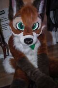 Husky Dog Fursuit Mascot Costume Cosplay Furry Dress Outfits Carnival Adults