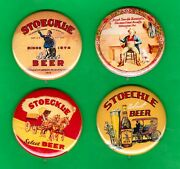 Joseph Stoeckle Style Diamond State Brewery 4 Beer Tray Rp Pins Wilmington De