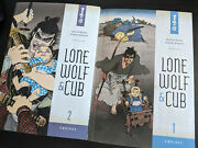 Lone Wolf And Cub, Omnibus 1 And 2, Dark Horse, Great Shape, 2 Book Lot