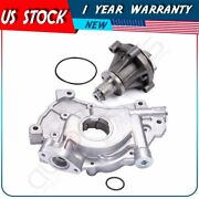Water Oil Pump For 2000-2003 Ford F-150 5.4l V8 Sohc 16v Supercharged Triton