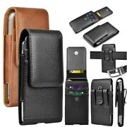 Phone Holster Leather Belt Clip Holster Phone Holder Pouch For Iphone Samsung