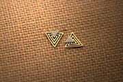 Diamond Earrings 14 K Solid Gold 0.15 Carat Natural Perfect For Birthday Gift