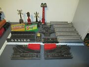 Vintage Marx Toy Train Accessories And Switches