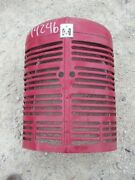 Farmall M Early Sm Ih Tractor Orgnal Nose Cone Grill W/ Screen And Emblem And Insert
