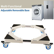 Universal Adjustable Washing Machine Stand Movable Furniture Dolly Roller Base