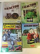 Lot Of 4 Vintage Tractor Magazines - Successful Farming - Tractor And Machinery