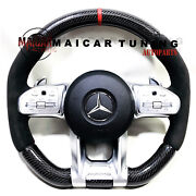2020 Amg Carbon Steering Wheels For Mercedes Benz C E S G Gls Model Year 2014 Up