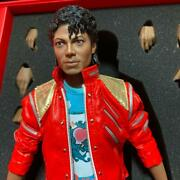 Michael Jackson Hot Toys Beat With It Version Certificate