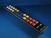 Lighted Push Button Set - Knight Rider Upper Console