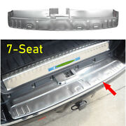 For Toyota 4runner 2014-2021 Steel Silver Outer Rear Bumper Sill Plate Protector