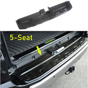 For Toyota 4runner 2014-2021 Black Steel Outer Rear Bumper Sill Plate Protector