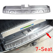 Steel Silver 7-seat Rear Bumper Sill Plate Protector For Toyota 4runner 14-2021