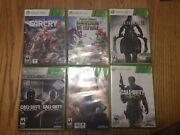 Xbox 360 Kinect Xbox One Wii Lot 17 Video Games Call Of Duty Grand Theft