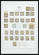 Lot 27971 Stamp Collection France Postage Dues 1859-1946.
