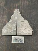 Cut Polished And Etched Sections Of The Gibeon Meteorite. No 3 116.77g