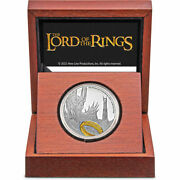 2021 The Lord Of The Rings - Sauron - 1 Oz. Silver Coin