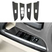 Real Carbon Fiber Glass Window Lifting Panel For Toyota Land Cruiser 2008-2021