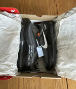 Authentic The 10 Off-white X Nike Air Max 97 Og Size 11 Black Men's Shoes W/ Box