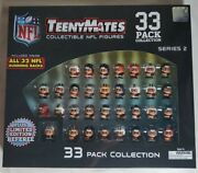 Nfl Teenymates Series 2 Running Backs Boxed 33 Piece Mini Figure Complete Set
