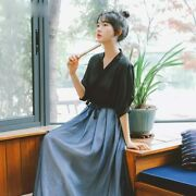 Chinese Traditional Hanfu Costume Women Dance Clothing Ancient Swordsman Outfit