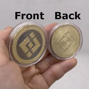 50pcs Silver Bnb Binance Crypto Coin Cryptocurrency Collectible Physical Coins